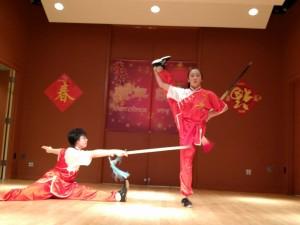 Emily and Trinity Wushu
