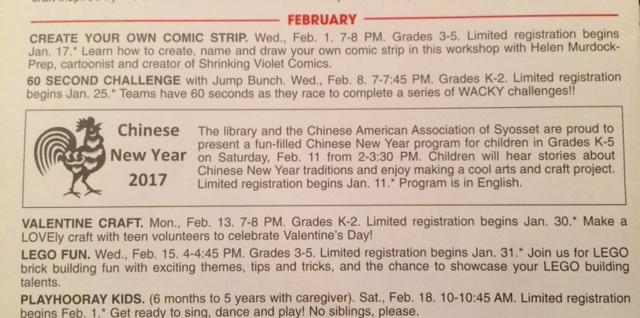 CNY 2017 Children's Library program