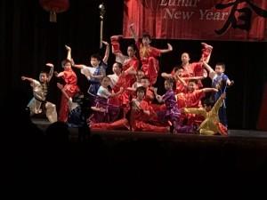 Kung fu group