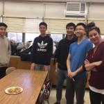 CCS members learn to wrap dumplings!